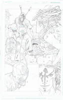 SUPERGIRL convergence pencils pg 22 by timothygreenII