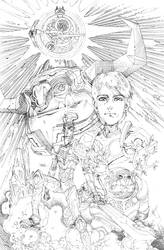 TROLLHUNTERS 02 cover pencils by timothygreenII