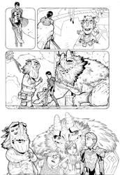 TROLLHUNTERS inks pg 2 by timothygreenII