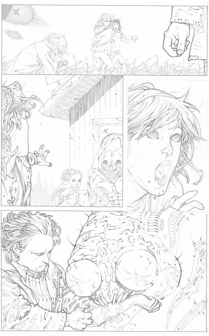 Animal man 16 pencils page 16 by timothygreenII