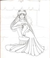 Queen Selenity by Mareasol