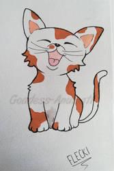 Flecki (Little cat)  by Goddess-Anumati