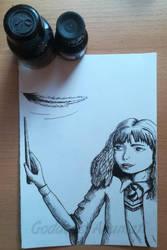 #inktober - 4. spell by Goddess-Anumati