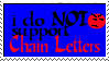 I do not support chain letters by erana