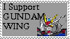 I SUPPORT GUNDAM WING by erana