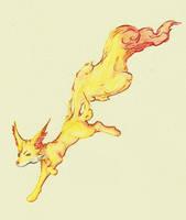 Fennekin - A spark was born by Yunuroko
