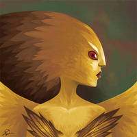 Eagle Fairy by thundercake