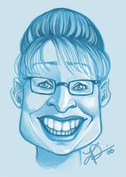 Sarah Palin by thundercake