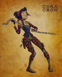 Cora Crow by thundercake