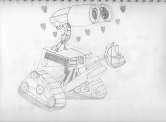 Happy (Late) Birthday WALL-E!!! - WALL-E by masterreviewer1000