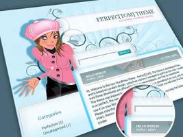 PerfecTom Free WordPress theme by Loreleike
