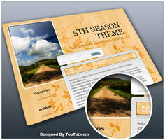 5th Season - Free WP theme by Loreleike