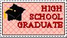 High School Graduate Stamp by Ja-Fraulein