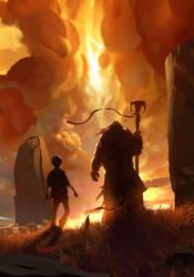 Warlock Apprentice by Balance-Sheet