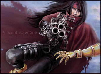 Vincent Valentine by n-a-S-t-u