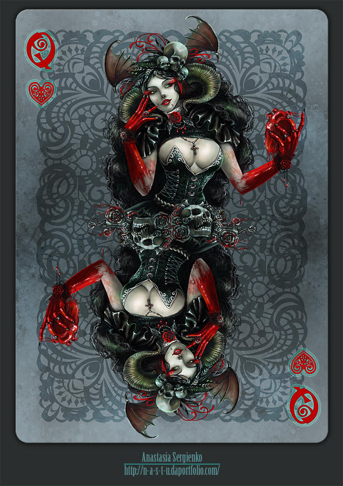 Queen of Hearts by n-a-S-t-u