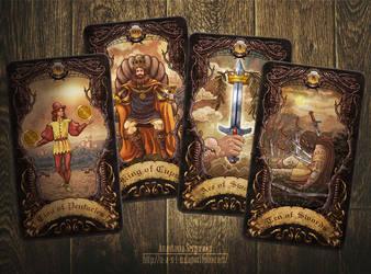 Mysterium. Tarot cards by n-a-S-t-u