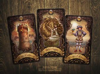 Mysterium. Tarot cards 2 by n-a-S-t-u