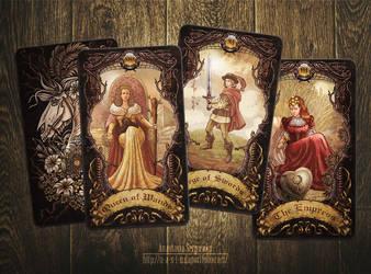 Mysterium. Tarot cards 3 by n-a-S-t-u