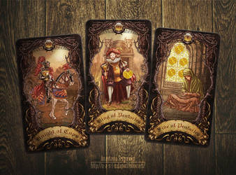 Mysterium. Tarot cards 4 by n-a-S-t-u