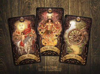 Mysterium. Tarot cards 5 by n-a-S-t-u