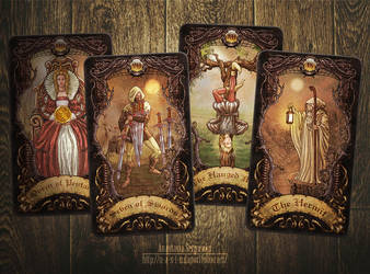 Mysterium. Tarot cards 6 by n-a-S-t-u