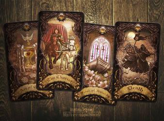 Mysterium. Tarot cards 7 by n-a-S-t-u