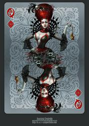 Queen of diamonds by n-a-S-t-u