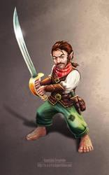 Hobbit Pirate by n-a-S-t-u