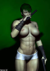 Sexy Enyo by spiresrich