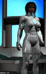 Adora-1: Cyborg Avenger by spiresrich