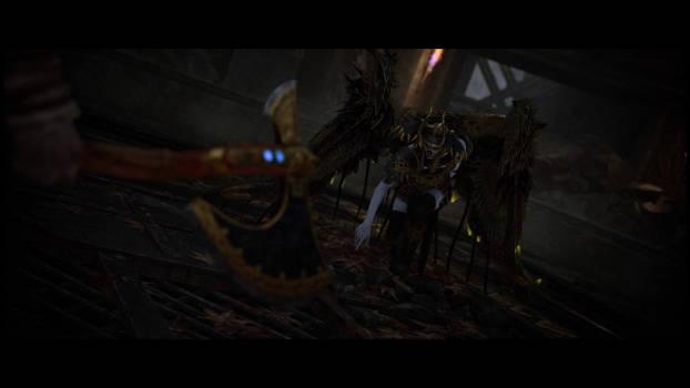 God of War: A Valkyrie Death by spiresrich