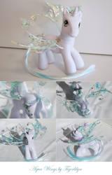 Aqua Wings - My Little Pony by tigerlilyn