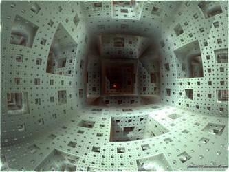 Inside the Menger Sponge by psion005