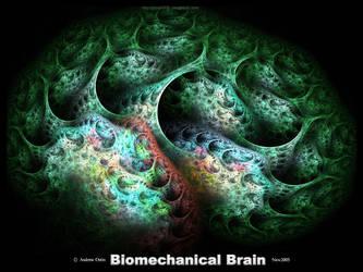 Biomechanical Brain by psion005