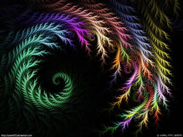 Just a colourfull spiral by psion005