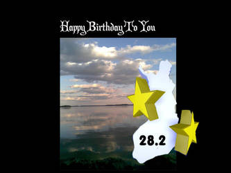 Happy Bithday 28.2 by fi
