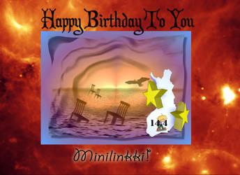 Happy Birthday Minilinkki by fi