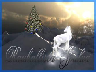 Rauhallista Joulua by fi