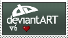 Deviantart v6 Stamp by BurntheEvidence165