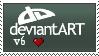 Deviantart v6 Stamp by BurntheEvidence165