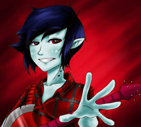 Marshall lee 2 by KevinWerty