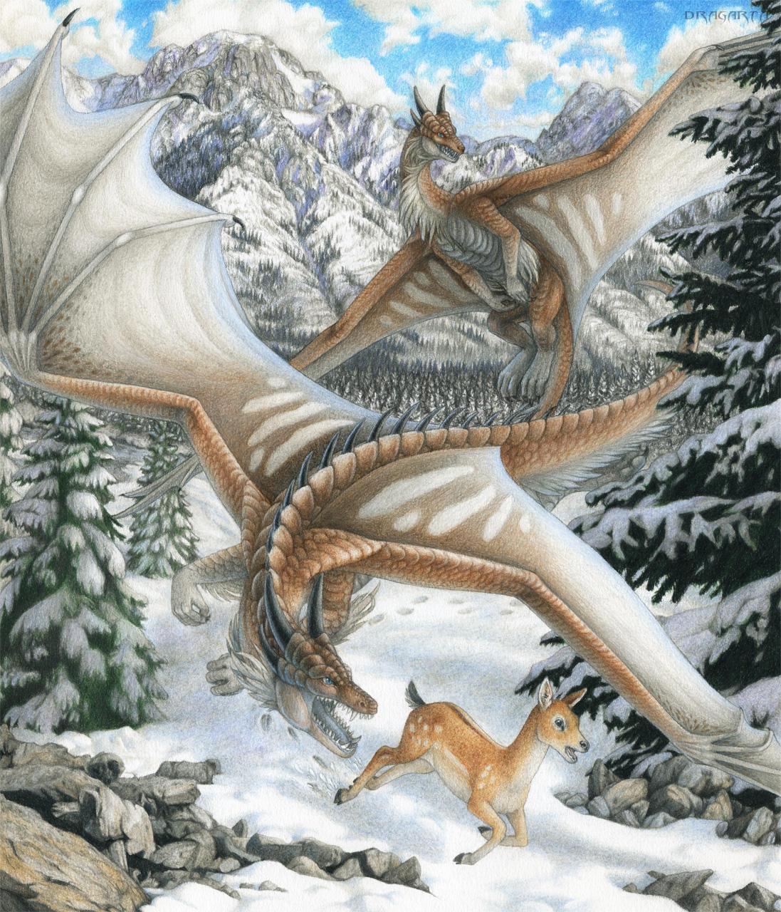 First hunt by Dragarta