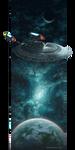 USS Enterprise by Dragarta
