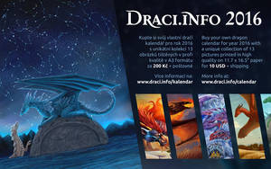 Dragon calendar Draci.info 2016 by Dragarta