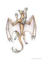 Climbing dragon by Dragarta