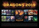Dragon calendar: DRAGONS 2019 by Dragarta
