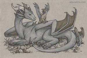 Dragon Calendar - Dragon Mum by Dragarta