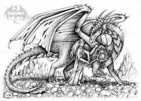 Enchantress and Dragon by Dragarta