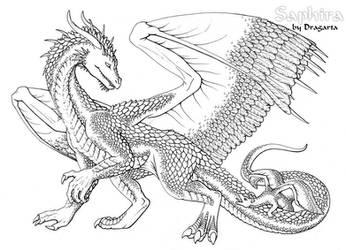 Saphira ink by Dragarta